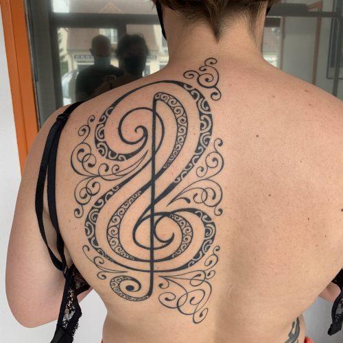 Tattoo music poly
